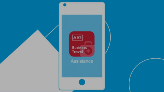 Application mobile AIG Travel